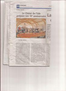Journal Le Résistant du 01 novembre 2018